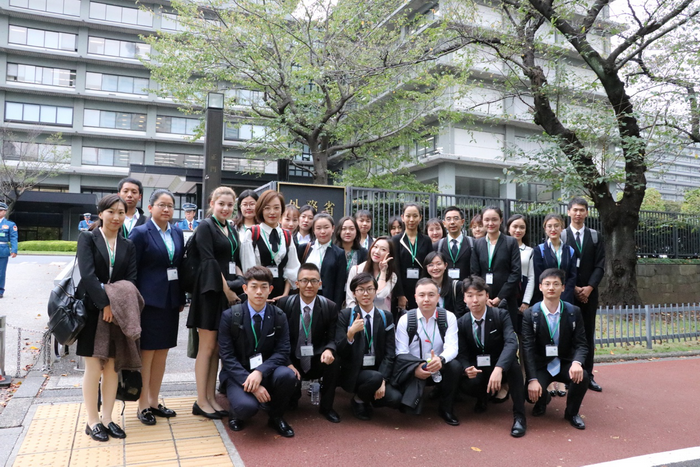MUC Teachers and Students from Chinese Ethnic Youth Delegation Visit Japan for Friendly Exchanges